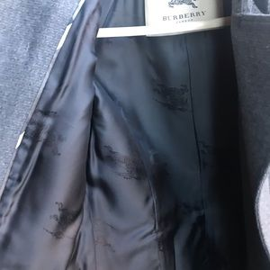 Burberry Jackets & Coats - Bearly worm charcoal Burberry coat, size 10!